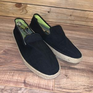 Sperry Top Sider Slip On Espadrille Shoes Size 12